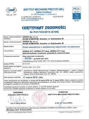 Certyfikat gerda_drzwi_1_2 setler